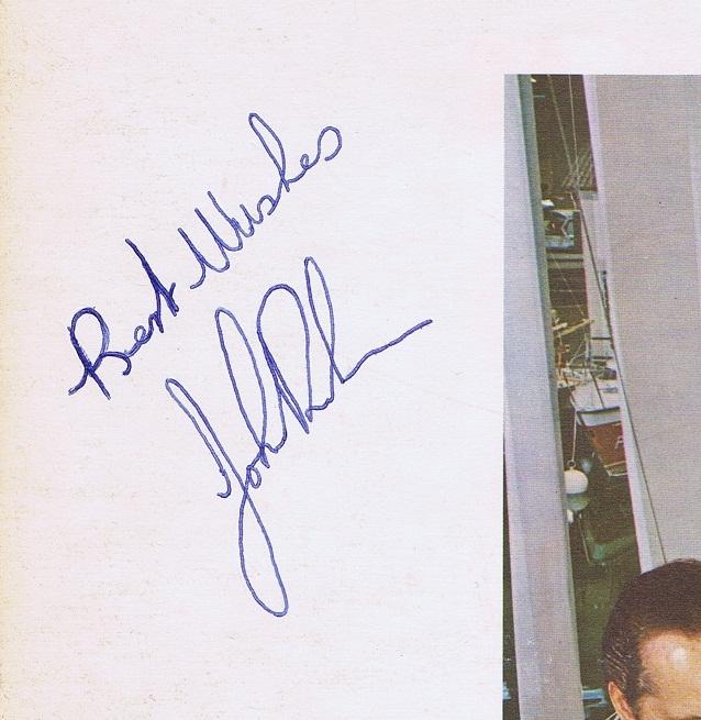 John Bonham Autograph Examples